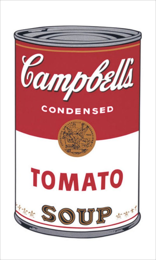 Campbell's Soup I: Tomato, 1968 - by Andy Warhol
