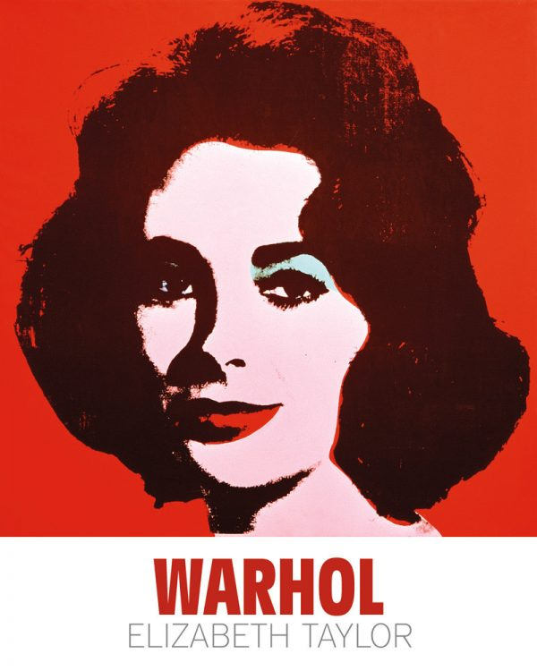 Liz, 1963 - by Andy Warhol
