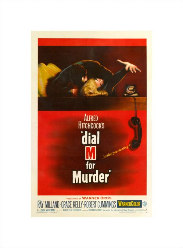 """""""Dial M for Murder - Alfred Hitchcock"""