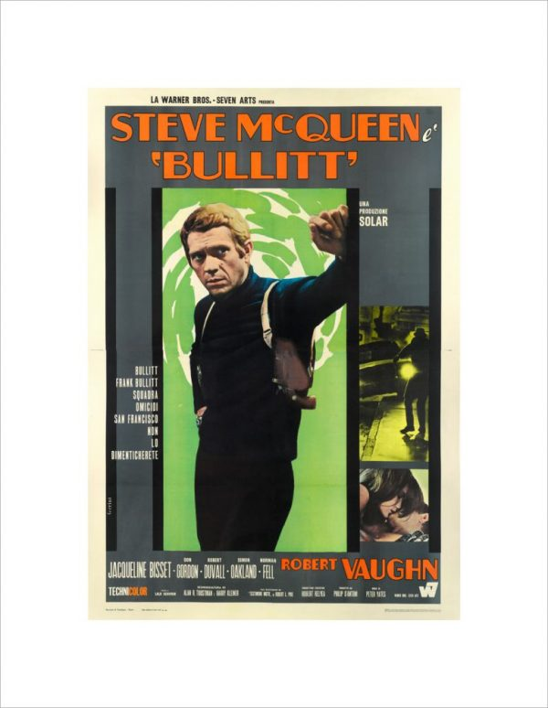 """Steve McQueen as Bullitt"" - Steve McQueen"