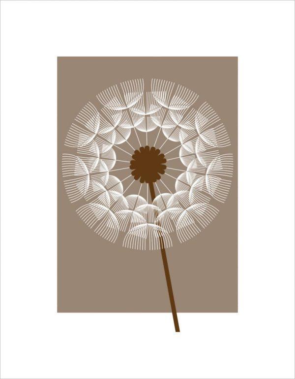 Dandelion II by Simon C Page