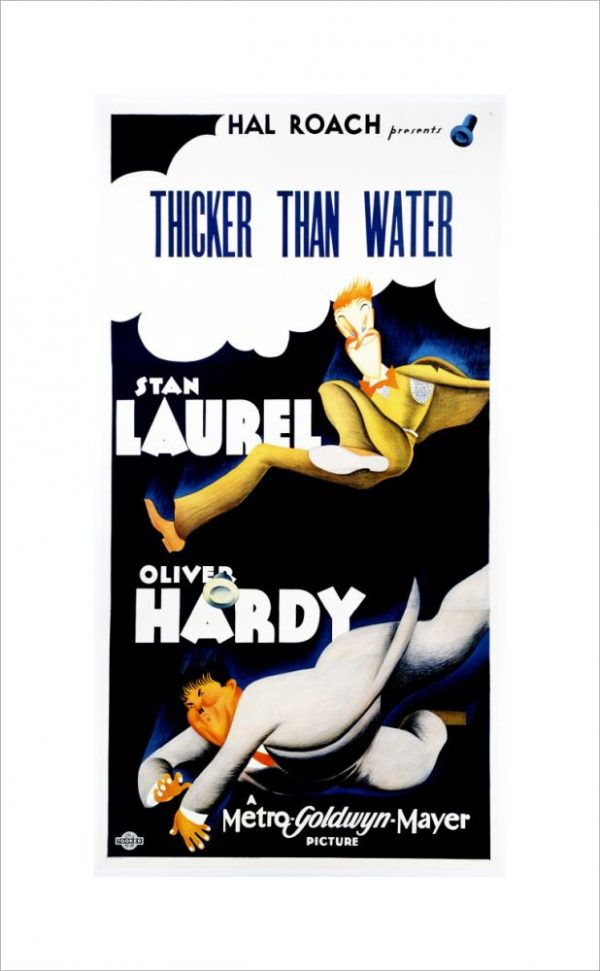 """Thicker Than Water"" Laurel & Hardy"
